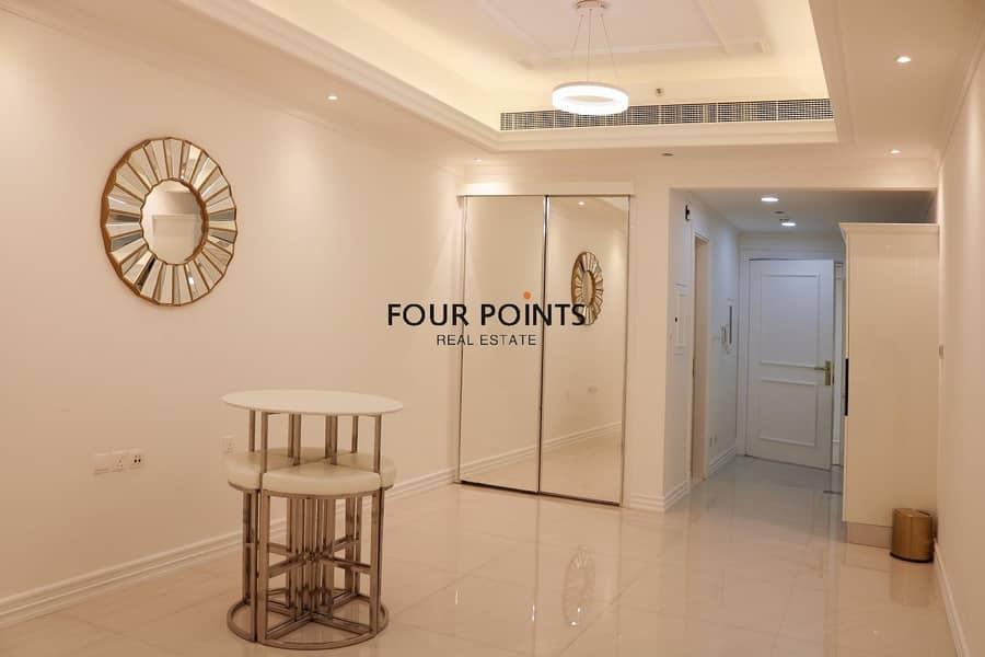 2 Luxury Branded Studio Apartment in Vincitore Palacio in Arjan