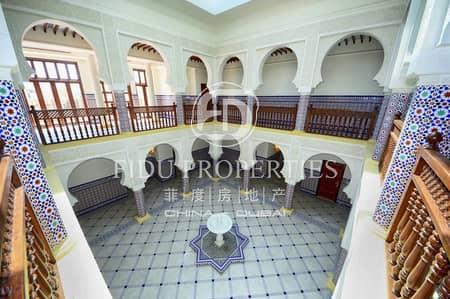 فیلا 6 غرف نوم للايجار في جميرا، دبي - Incomparable Moroccan  Grand Masterpiece