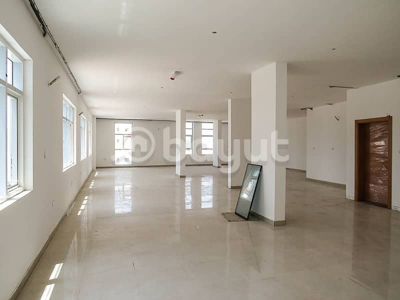 An office in Al-Jurf close to the Chinese market at a fantastic price for this year 65,000 with large space and attractive design