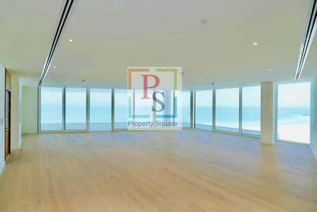 3 Bedroom Apartment for Rent in Saadiyat Island, Abu Dhabi - Full Sea view 3 BR + M at Best Price