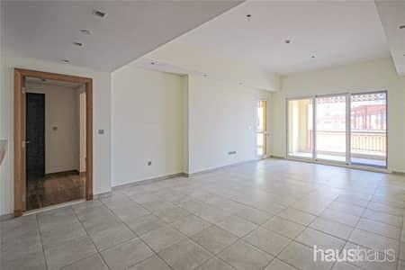 فلیٹ 2 غرفة نوم للايجار في نخلة جميرا، دبي - Direct Pool Access | Sea View | Kitchen Appliances