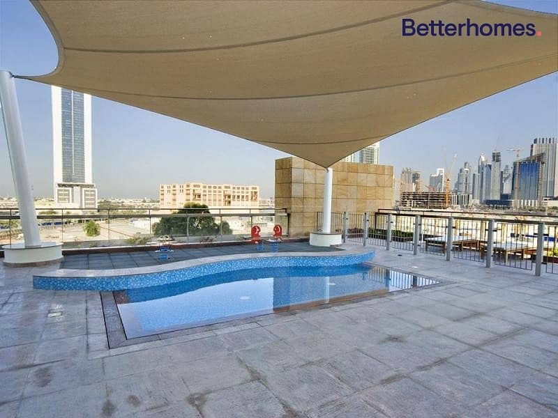 10 One Bed |  8 Boulevard Walk | Balcony |