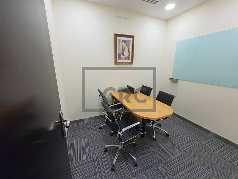 10 Furnished | ALMAS Tower | Close to Metro | 1 Private Parking