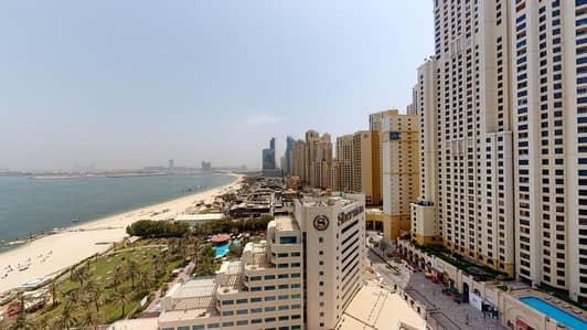 1 Bedroom Flat for Rent in Jumeirah Beach Residence (JBR), Dubai - 1 Month Free| Sea Views | Visit Online