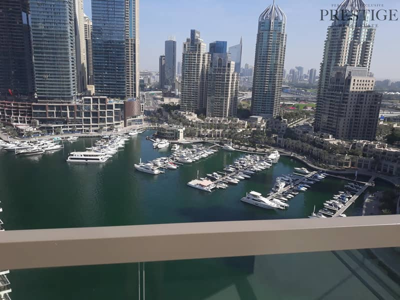 2 bed I Mid floor I Vacant I Full marina viewI Brand new