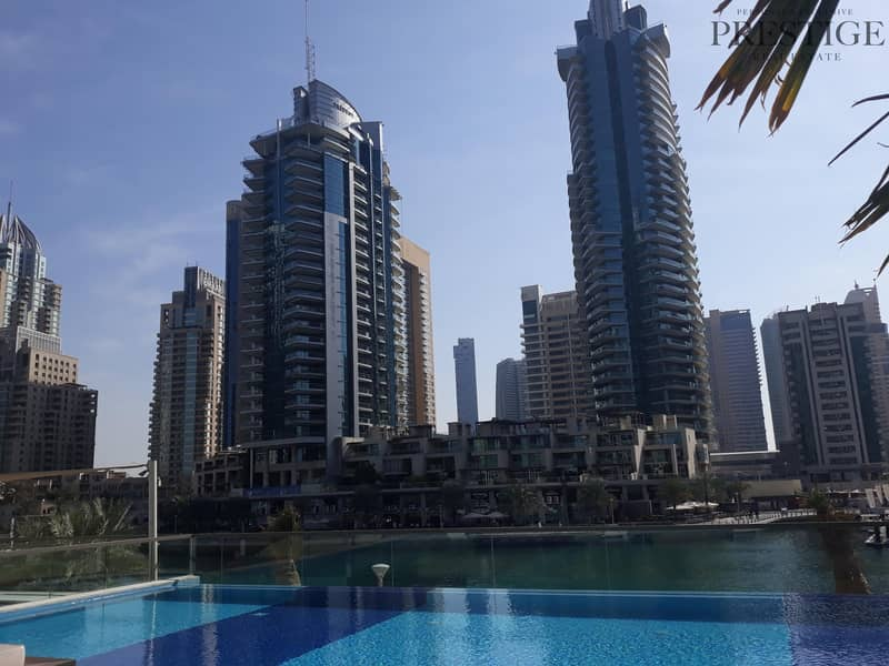 18 2 bed I Mid floor I Vacant I Full marina viewI Brand new