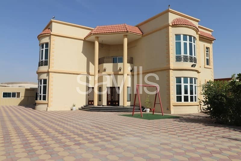 Well-located spacious G+1 villa