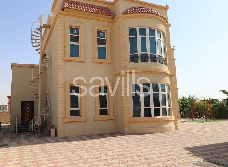 2 Well-located spacious G+1 villa