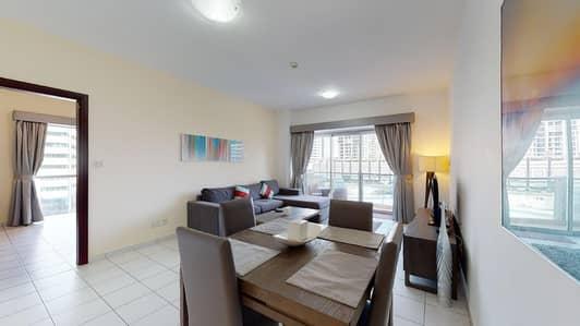 شقة 1 غرفة نوم للايجار في دبي مارينا، دبي - Marina views | Visit with digital lock | Rent online