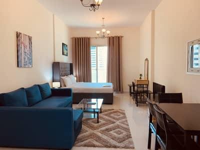 Studio for Rent in Dubai Sports City, Dubai - Large Studio Apartment in Elite Residences 1- Sports City (12)