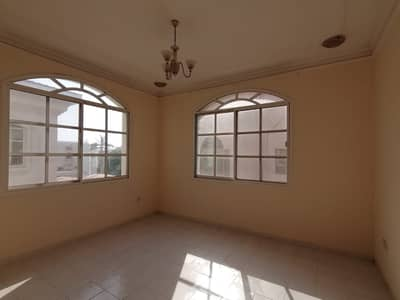 4 Bedroom Villa for Rent in Sharqan, Sharjah - Sp. 4 BHK Double story villa with huge majlis, living dining, maid room, covd parking, split A/C