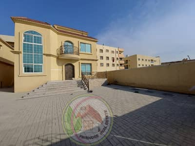 5 Bedroom Villa for Sale in Al Mowaihat, Ajman - For sale the cheapest new two-storey villa with central air conditioning 5000 feet at a great price and a snapshot for customers wanting to own a house