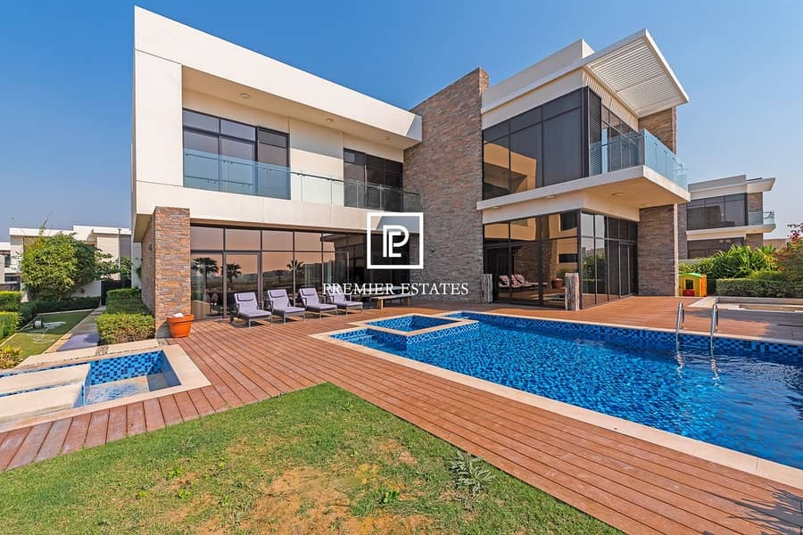 Fully Furnished|Golf view| Paramount Villas|6 Beds
