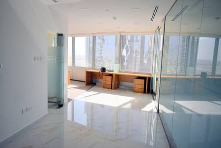 Office for Rent in Jumeirah Lake Towers (JLT), Dubai - Fully Furnished II Spacious Office II Direct from Landlord ||No Commission
