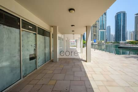 Shop for Rent in Jumeirah Lake Towers (JLT), Dubai - Shell and Core Retail | Low Floor | DMCC