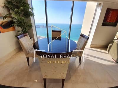 1 Bedroom Penthouse for Rent in Jumeirah Beach Residence (JBR), Dubai - 3 MONTHS FREE - SEA VIEW PENTHOUSE