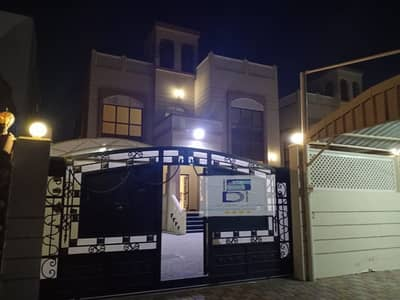 5 Bedroom Villa for Rent in Al Mowaihat, Ajman - Fantastic villa in a great location for rent at an ideal price - 5 master bedrooms