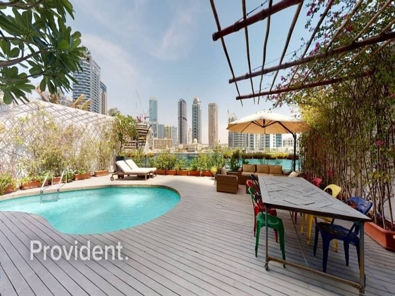2 Luxury Furnished with Private Pool | Marina View