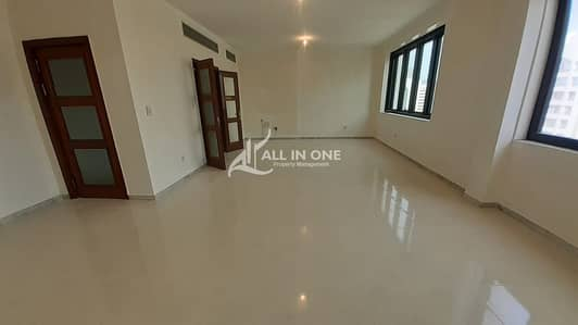 4 Bedroom Apartment for Rent in Al Najda Street, Abu Dhabi - Natural Bright in Spacious 4BR+Maids Room with Balcony!