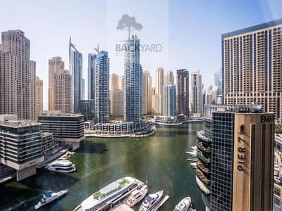 1 Bedroom Apartment for Rent in Dubai Marina, Dubai - Marina View | Brand new | Very Bright | Unfurnished