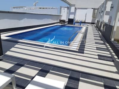 1 Bedroom Flat for Rent in Danet Abu Dhabi, Abu Dhabi - Very Upscale 1BR Parking and Amenities!