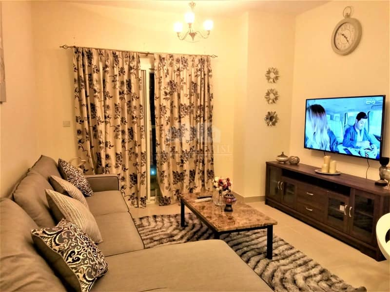 Fully Furnished | 1 Bed | Red Residency | Vacant