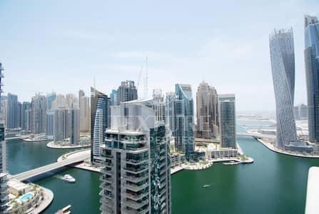 شقة 3 غرف نوم للايجار في دبي مارينا، دبي - Spacious 3 BR+Maid | Marina & Golf Course View