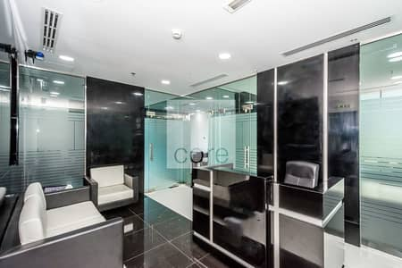 Office for Sale in Business Bay, Dubai - Fitted and Partitioned Office | Mid Floor