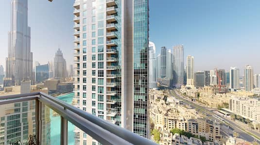 3 Bedroom Flat for Sale in Downtown Dubai, Dubai - DIRECT FROM OWNER RENTED GREAT PRICE HIGH FLOOR