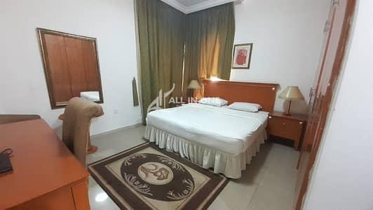 شقة فندقية  للايجار في مدينة زايد، أبوظبي - Classy Style! Fitted Studio Inclusive of Utilities @ AED 5500!