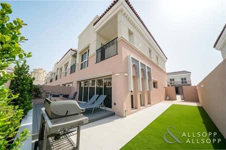 تاون هاوس 3 غرف نوم للبيع في عقارات جميرا للجولف، دبي - Upgraded Kitchen | Landscaped | End Unit