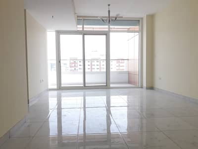 1 Bedroom Apartment for Rent in Al Nahda, Dubai - Big Size & Full Bright _Master Bedroom _ Wardrobes _ Huge Hall_ extraordinary Huge Balcony _ Big Close kitchen _ Central Gas _ Gym _ Pool_ Parking