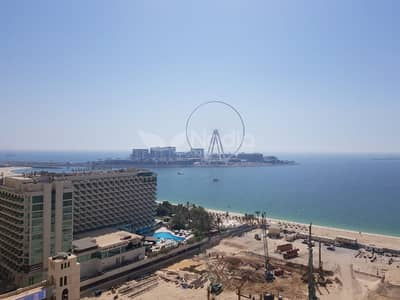 3 Bedroom Flat for Sale in Jumeirah Beach Residence (JBR), Dubai - Fully Furnished 2BR | Al Fattan Marine Towers | JBR