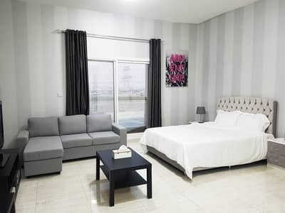 Studio for Rent in International City, Dubai - Brand New stunning well furnished studio 3500 monthly all in