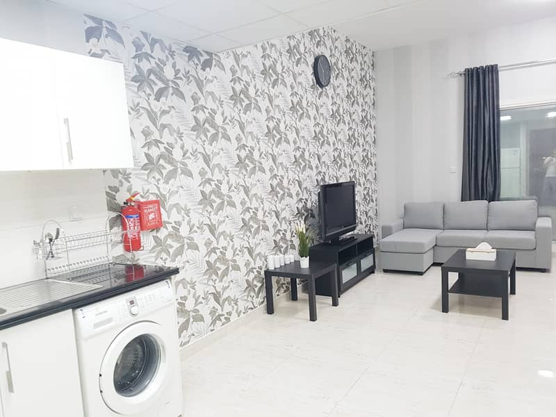 Brand New stunning well furnished studio 3500 monthly all in
