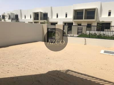 3 Bedroom Townhouse for Rent in Town Square, Dubai - Single Row | Green Belt | 3 BR | Brand new