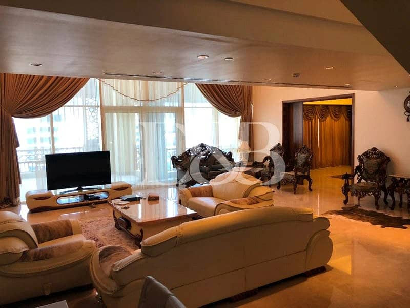 2 Furnished Penthouse | Panoramic view | 4BR+M