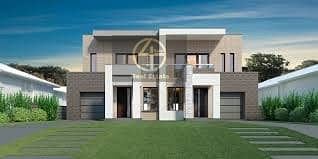 #Zero Transfer Fees!Luxurious Incredible 2 Villa/ Elegant Design