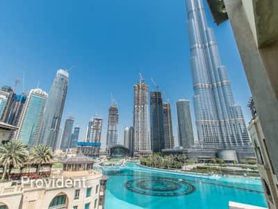 1 Bedroom Flat for Rent in Downtown Dubai, Dubai - Burj and Fountain Views | Rare and Unique | Vacant