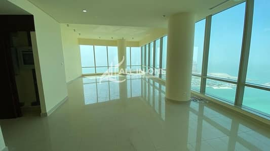 3 Bedroom Flat for Rent in Corniche Area, Abu Dhabi - Lavishly Extraordinary! 3BR+Maids Room with Basement Parking