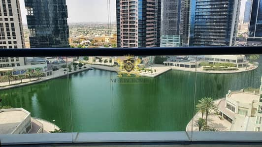 Studio for Rent in Jumeirah Lake Towers (JLT), Dubai - CHILLER FREE : Fully Furnished Studio + Balcony @34k