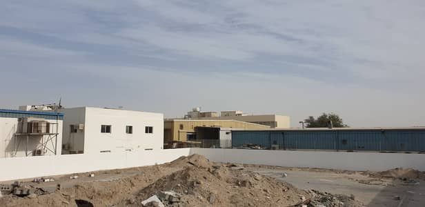 Industrial Land for Rent in Industrial Area, Sharjah - For rent two lands in the industrial 11 with offices and electricity sharjah