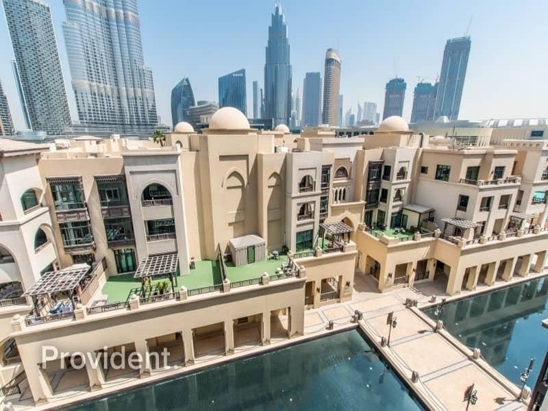 15 Super Unique | Rare Apartment | Burj and Fountain