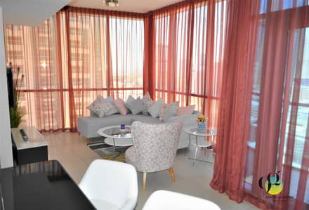 1 Bedroom Apartment for Rent in Jumeirah Lake Towers (JLT), Dubai - Beautiful /Furnished/1BR with Marina View