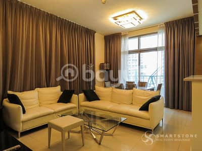 فلیٹ 2 غرفة نوم للايجار في وسط مدينة دبي، دبي - NEGOTIABLE l GREAT VALUE FOR MONEY l HIGH FLOOR FULLY FURNISHED WITH PARTIAL FOUNTAIN VIEW