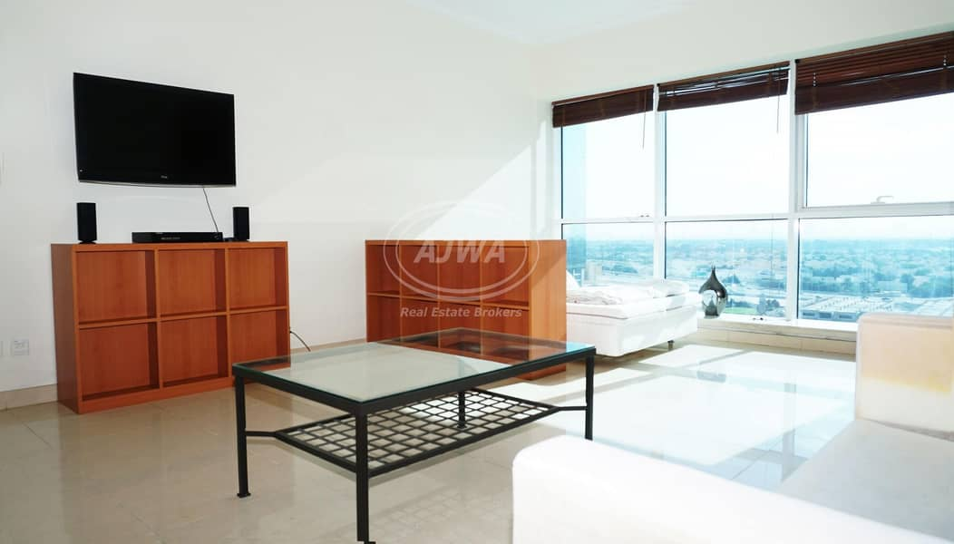 Fully Furnished STUDIO with AMAZING VIEW