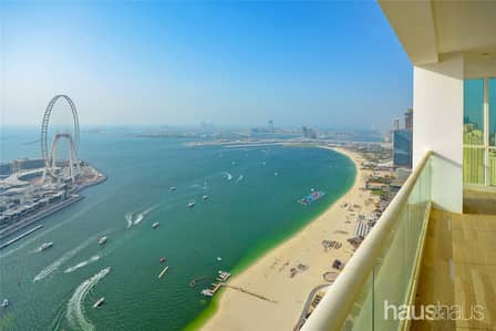 5 Bedroom Penthouse for Sale in Jumeirah Beach Residence (JBR), Dubai - Exclusive | Vacant Custom Fitted | Full Floor PH