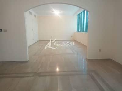 شقة 3 غرف نوم للايجار في الخالدية، أبوظبي - Ample Space Residential/3BR with Maids Room Basement Parking!