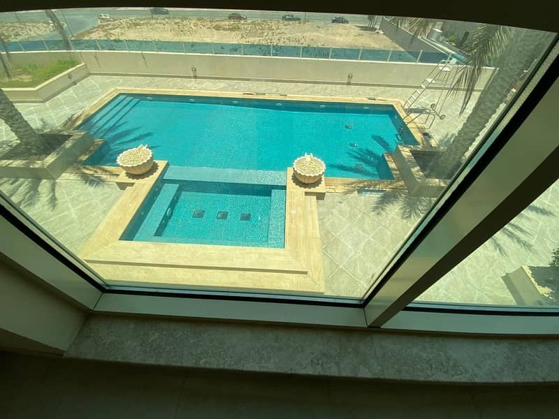 30 DAYS FREE  BEAUTIFUL BRAND NEW STUDIO  WITH BALCONY FOR RENT IN PHASE 2 WARSAN 4