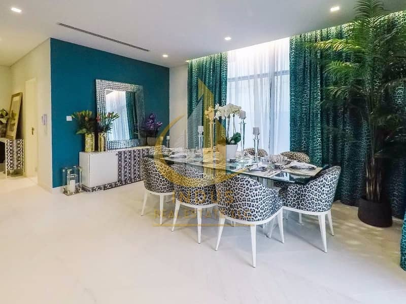 2 3BR Just Cavalli   Payable Over 3 Years   Offplan Villa by Damac
